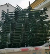山东东营王总订锌钢护栏300米